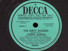 Tommy Dorsey Clambake 7/The Dirty Dozens-Trouble in Mind/PROMO/Decca 28064/N-