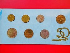 1995 Russian Original Mint Set 50 years of Victory 6 coins in bank folder