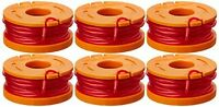 WORX Replacement 10-Foot Grass Trimmer/Edger Spool Line 6-Pack, WA0010