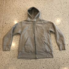 Engineered Garments Thermal Lined Hooded Sweatshirt Camber Made Size XL Gray