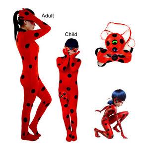 Kids Girls Womens Cosplay Costumes Jumpsuit Bodysuit Set Halloween Zentai Suits