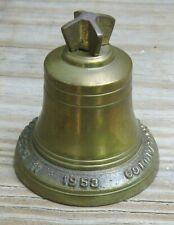 Queen Elizabeth II Brass Bell