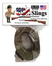 Rifle Sling OD Green Mil.Spec - 2 Point Gun Sling