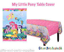 My Little Pony Friendship Paper Table Cover Birthday Party Supplies Decorations