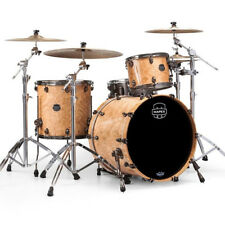 NEW Mapex SATURN V MH Exotic Rock Drum Set 3-Piece Shell Pack Natural Maple Burl