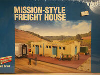 Walthers Cornerstone HO Scale Mission Style Freight House Kit