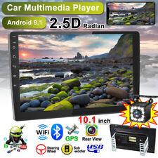"10.1"" Android 9.1 Radio de coche 2Din MP5 USB FM Bluetooth GPS WiFi +con cámara"