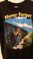 Never Forget, Motorcycle Ride, Men's Large Trinity Tee Shirt