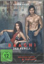 BAAGHI / DER REBELL  Bollywood Film DVD mit Tiger Shroff & Shraddha Kapoor