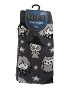 Harry Potter Cosy Socks 1 Pair Women's Shoe Liners Ladies Size UK 4-8 Primark