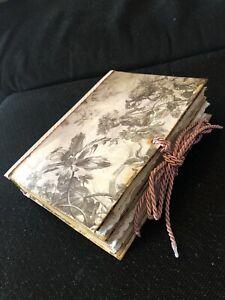 junk journal - Album - Scrapbook - Gothic - Vintage - DIY - Fotobuch - Memories