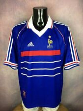 FRANCE Jersey Maillot Camiseta Home World Cup 1998 Adidas Vintage Etoile FFF