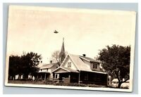 Vintage Early 1900's RPPC Postcard Residential Home Humphrey Nebraska UNPOSTED