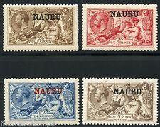 NAURU SEAHORSES  SCOTT#13/16  STANLEY GIBBONS #21/23 & 25   MINT LH