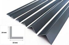ANTHRACITE 7016 PLASTIC PVC CORNER 90 DEGREE ANGLE TRIM 2.5 METERS VARIOUS SIZES