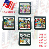 208/482/468/500/520 in1 Games Cartridge Cards For DS NDS 2DS 3DS NDSI NDSLUS