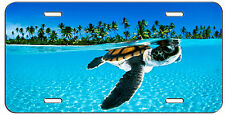 CUSTOM LICENSE PLATE TROPICAL TURTLE AUTO TAG