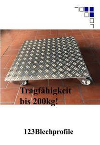 Pflanzenroller AluGrip-V200 bis 200kg Blumenroller Untersetzer Indoor Outdoor