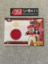 2000 PACIFIC REVOLUTION JERRY RICE GAME USED JERSEY #D /828 SP HOF GOAT 49ERS