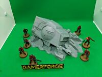 Star Wars Legion Wrecked AT-AT Head Large 28mm Terrain Scenery Wargame Objective