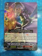 CARDFIGHT Vanguard English BT10/017EN RR Eradicator Wyvern Guard, Guld