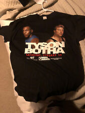 Vintage 1999 MGM Onsite Boxing Shirt Mike Tyson Vs Botha Size Xl