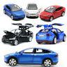 1:32 Tesla Model X 90D SUV Diecast Model Car Sound&Light Pull Back Toy 4 Color