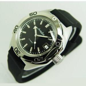 Vostok Amphibian Watch Scuba Diver Military Russian Automatic 670922 NEW
