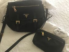 Prada Handbag and wallet wrislet