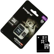 Scheda di memoria Micro SD 32 GB Class 10 per Sony XPERIA Z3 Compact