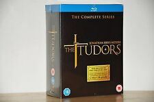 The Tudors The Complete Series Blu-Ray Box Set - Brand New Free Shipping