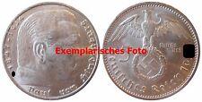 J367 5 Reichsmark Hindenburg m. H. 1936 E in SS
