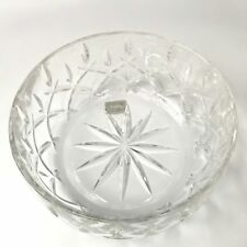 "Gorham Lady Anne Crystal Salad Fruit Bowl 9""  605448804 Germany Blown Glass New"