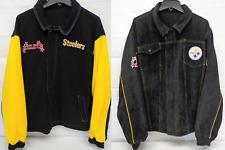 Pittsburgh Steelers Men's Large GIII Reversible Corduroy Jacket 666