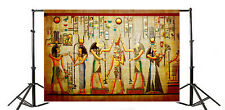 7x5ft Vintage Egyptian Mural Figures Backdrop Background Photography Studio Prop