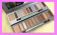 Set/2 Mally CityChick 11pc Each Eyeshadow Palettes Primer Brush Neutral + Color!