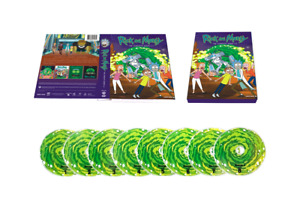 Design version  Rick and Morty : complete series Season 1-4 (DVD, 8-Disc)