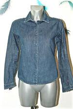 jolie chemise en jeans bleu femme LEVI'S red tab taille SMALL excellent état