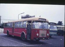 U59 - Dia slide original 35 mm bus autobus touringcar: DAF, NMBS, Leuven, 1971