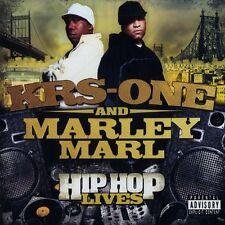 KRS One & Marley Marl - Hip Hop lives (CD - 2007 - US - Original)