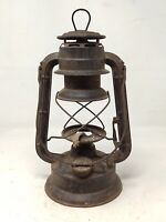 Vintage Old Feuerhand No.270 Made In Germany Kerosene Lantern Lamp Without Glass