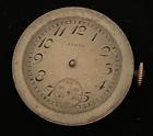 Vintage 1923 Lady Elgin 444 Pocket Watch Movement Parts 10/0s 15j USA