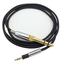 Headphone Audio Cable for Senheiser HD598 HD599 HD558 HD595(w/ 6.35mm Adapter) T