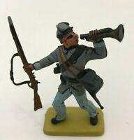 LANDI Soldatini Confederato Sudista Nordista xiloplasto 1:32 toy soldier POSA 2