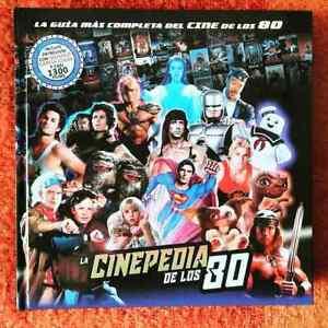 LIBRO CINEPEDIA de los 80 - TODO EL CINE de los años 80 en una lujosa GUÍA -