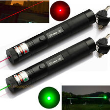 10 Miles Military Green Red 1mw Laser Pointer Pen Light Lazer Visible Beam Focus