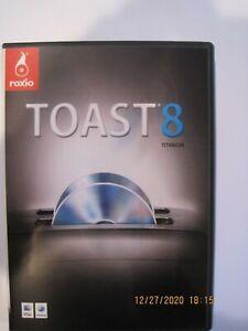 Roxio Toast 8 Titanium DVD For Mac - 2007 - Burn audio CDs, movies, DVDs