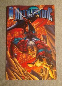 Battlestone #2 by Ron Liefled & Eric Stephenson First Print Image (1994) VF+