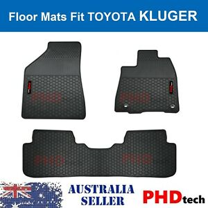 Premium Quality All Weather Rubber Car Floor Mats KLUGER 2014-2021 May