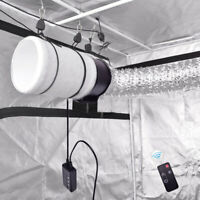 Remote Control Fans  4''6''8'' Inline Grow Tent Ventilate Ducting Carbon Filters